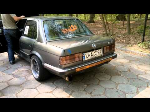 BMW E30 3.5 turbo stage 1 - 0.6 bar KKK K27 tuned by Maleckis
