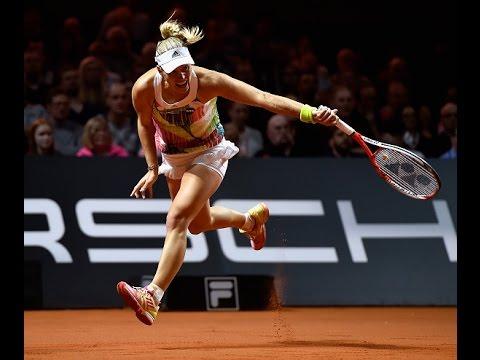 2016 Porsche Tennis Grand Prix Semifinal | Angelique Kerber vs Petra Kvitova | WTA Highlights