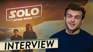 SOLO: A STAR WARS STORY Interview | Alden Ehrenreich talks about movie, his part and his origin