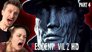 Scared Buddies Meet Mr X In Resident Evil 2