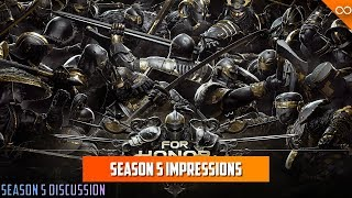 For Honor's Season 5 Has Changed the Game