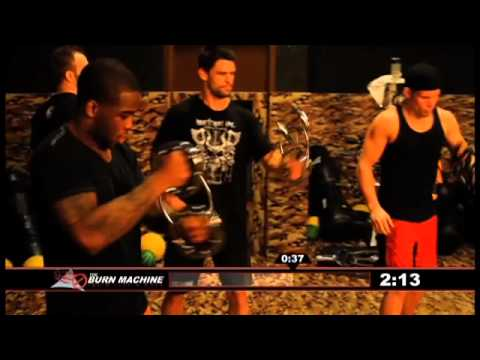 Burn Machine Speed bag - Workout November 2011 Image 1