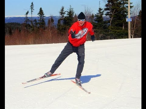 Cross Or X Country Skiing Free Skate Technique Youtube
