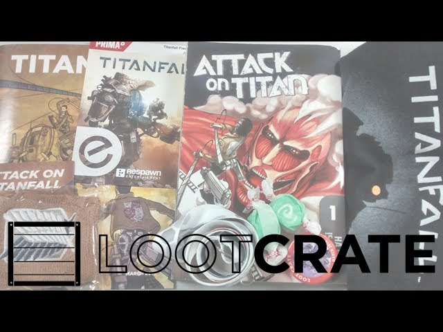 "Loot Crate - March 2014 - ""TITAN"""
