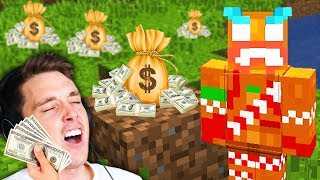 playing minecraft for ad revenue