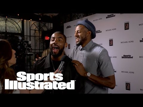 Andre Iguodala Calls Out Kyrie Irving For ignoring His Texts | Fashionable 50 | Sports Illustrated