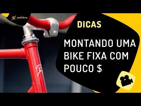 Como montar uma bike fixa fixed gear e não rebaixada gastando pouco Pedaleria