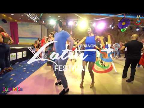 Martin & Dalia Karouta Social Salsa (LEBANON LATIN FESTIVAL 2018)