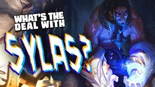 What's the deal with Sylas? || character design & lore discussion