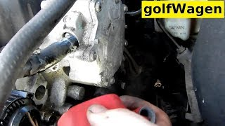 VW Golf 5 fuel vacuum pump replacement / brake boost system check
