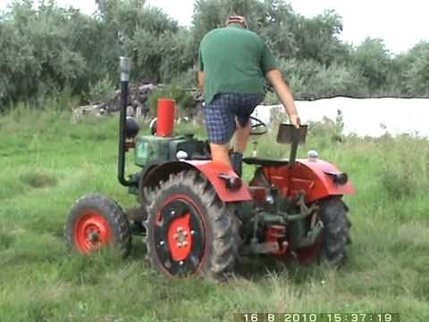 Lanz-Bulldog traktor BL-12 (nagy MIA) motorral 1,7l Jászszentlászló