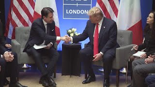 President Trump Participates in a Bilateral Meeting with the Prime Minister of the Italian Republic