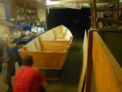 build a dinghy from plywood