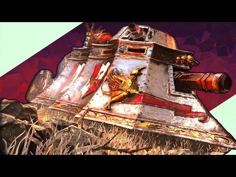 Total War Warhammer - Паровой Танк?