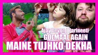 download lagu Maine Tujhko Dekha Song Reaction Golmaal Again  Ajay gratis