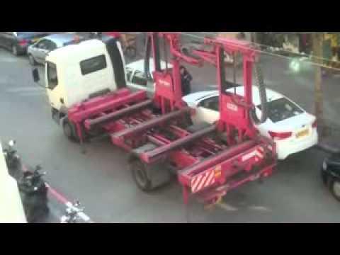 Israeli Tow truck