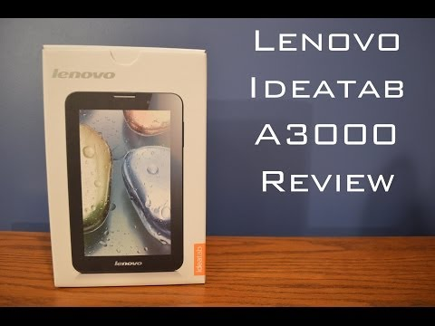 Lenovo Ideatab A3000 Reivew