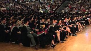 UCLan Graduation Ceremony: Thursday 11th July 2013 - Morning