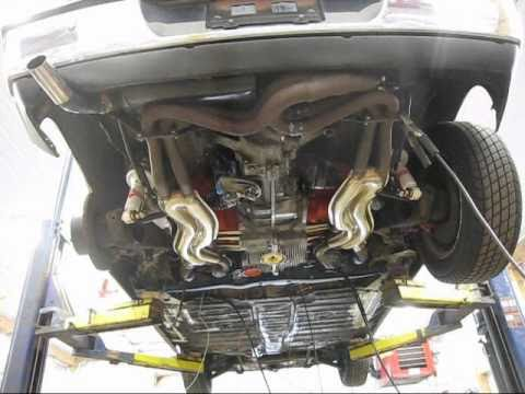 Installing The Engine In My Porsche 914 Youtube