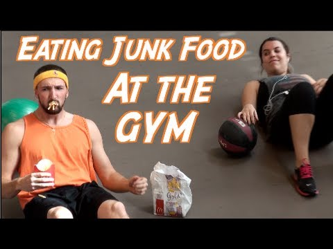 Eating Junk Food at the Gym