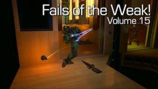 Halo: Reach - Fails of the Weak Volume 15 (Funny Halo Reach Bloopers and Screw-Ups!)