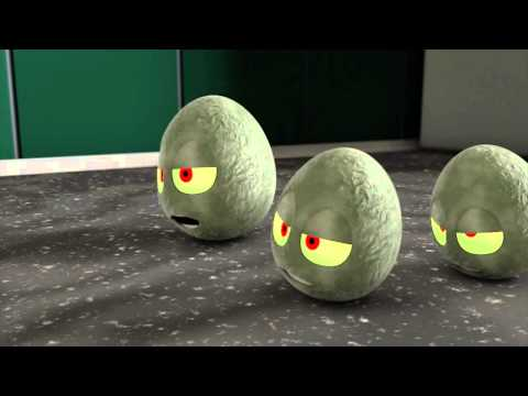 THE CRACK: ZOMBIE EGGS! (Rus by Rissy)