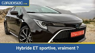 Toyota Corolla Touring Sports 2019 : hybride et sportive, vraiment ?