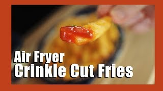 How to make frozen french fries in an air fryer | Air fryer recipe for crinkle cut fries