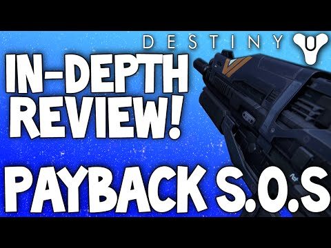 Destiny: Payback S.O.S In-Depth Review / Vanguard Legendary Auto Rifle