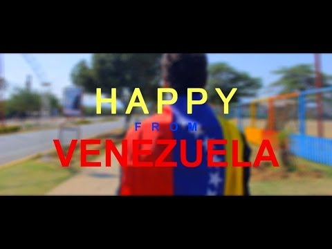 Pharrell Williams - Happy (Venezuela - Coro) #HAPPYDAY