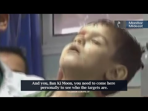 Gaza Doctor Invites Ban Ki-moon to Meet Slain 'Terrorist' (English Subtitles)