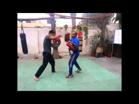 Shaolin Temple India - Sanshou/Muay Thai Training Image 1