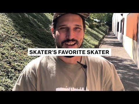 Skater's Favorite Skater | Fred Gall