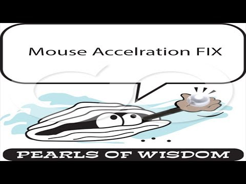 ► How To: Disable mouse acceleration. windows 7. windows 8. and windows 8.1 by ShavedApe