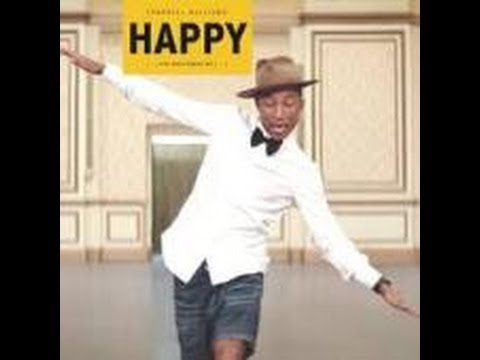Pharrell Williams-HAPPY-日本語訳&歌詞