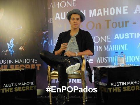 AUSTIN MAHONE comenta colaboraciones con artistas latinos y tour por México