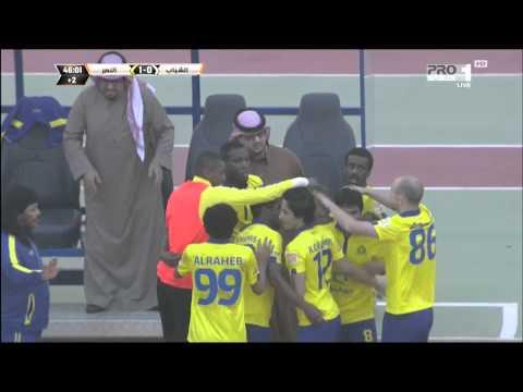 MBC PRO SPORTS -هدف النصر الأول في مرمى الشباب - يحيى الشهري