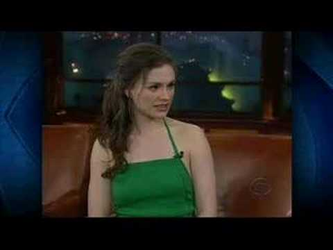Anna Paquin on Craig Ferguson Part 2
