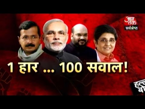 Halla Bol: Did BJP Lose in Delhi Due to Kiran Bedi? (PT-1)