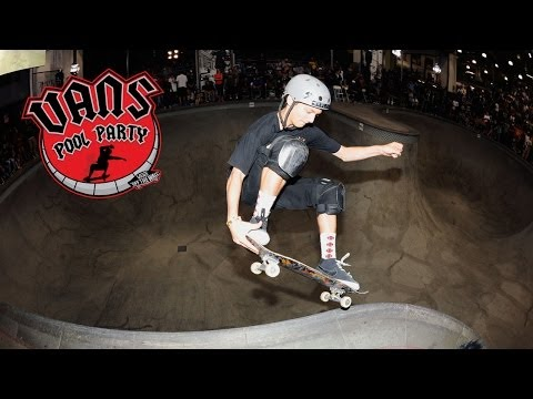 Vans Pool Party 2014 Finals