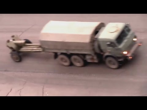 Russian Artillery Hardware Convoy In Donetsk Is Invisible To OSCE, Nov 11 2014