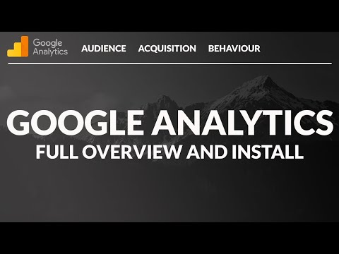 Google Analytics Tutorial for Beginners  (Detailed) - Use & Install