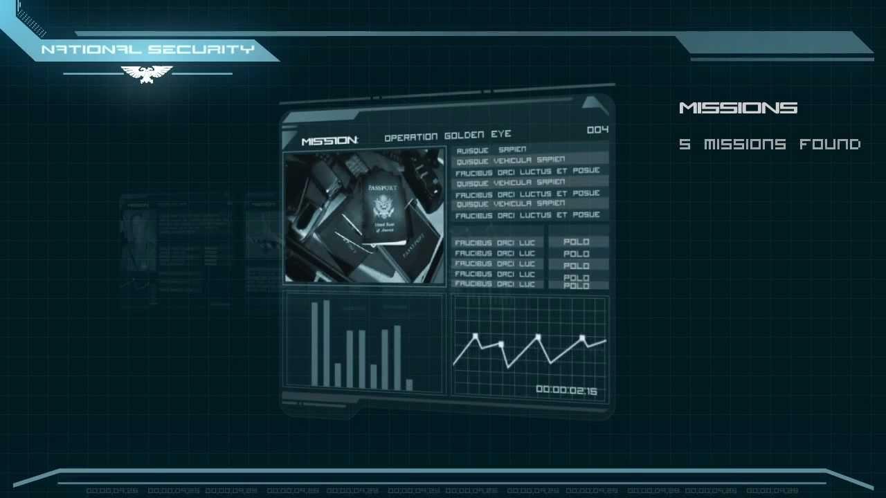 Futuristic User Interface