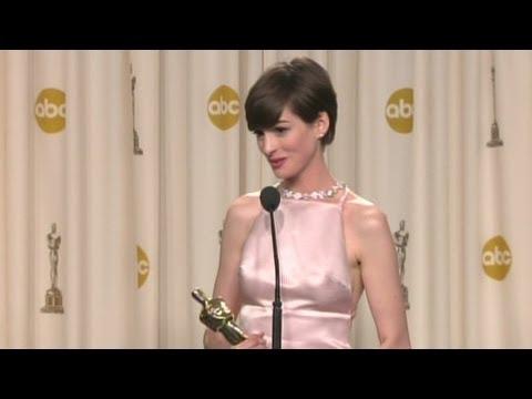 Anne Hathaway: My Oscar dream came true