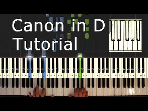download lagu Canon In D - Piano Tutorial Easy - Pache gratis