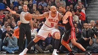 Boozer and the Bulls Stampede the Heat