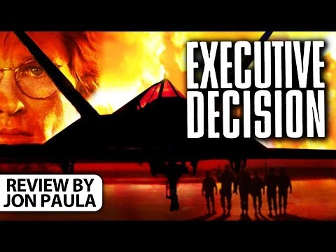 Executive Decision -- Movie Review #JPMN
