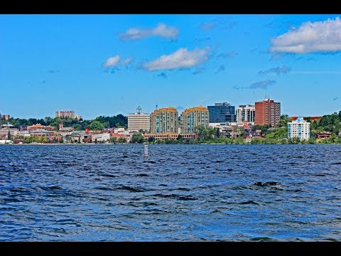 Barrie, Ontario: Driving Around Downtown (June, 2017)