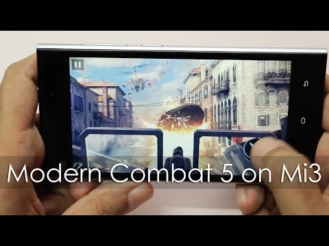 Modern Combat 5 Blackout Gameplay on Xiaomi Mi3 Android Phone