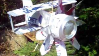 Play - アルミ缶風車(横軸型) aluminum-can-windmill